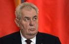 У Сенаті Чехії заявили про недієздатність президента Земана