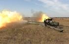 Україна провела навчання протитанкових резервів біля Криму