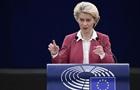 Фон дер Ляєн: Європа зараз дуже залежить від газу