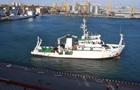 В Україну прибуло подароване Бельгією дослідницьке судно