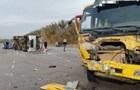 Під Києвом зіткнулися вантажівка і мікроавтобус