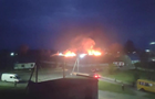 На Волині виникла масштабна пожежа на складах