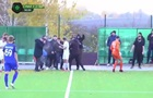 У Сумах футбольний матч закінчився масовою бійкою