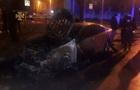 В Харькове подожгли автомобиль чиновника Офиса генпрокурора