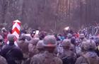 Мігранти проривалися до Польщі, поранено двох солдатів