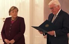 Президент ФРН вручив Меркель повідомлення про закінчення її повноважень