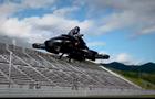 В Японии создали гибридный летающий байк