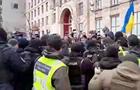 В Киеве протестовали водители автобусов