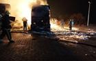 Взрыв на заправке под Харьковом: сгорели два грузовика