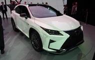 Обновленный кроссовер Lexus RX дебютировал в Нью-Йорке
