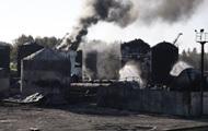 Названы причины пожара на нефтебазе под Киевом