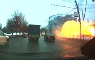 На видео сняли момент взрыва у метро в Москве
