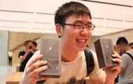СМИ показали ажиотаж в первый день продаж iPhone 8