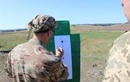 В Луганской области провели учения снайперов