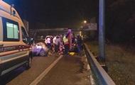 Беременная женщина серьезно пострадала в результате масштабного ДТП в Киеве