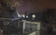 В центре Винницы произошел крупный пожар