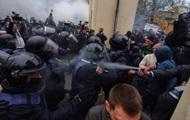 В Одесі мітинг переріс у зіткнення з поліцією
