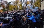Во время митинга в Одессе пострадали 20 полицейских