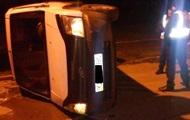 На границе с Молдовой при попытке прорыва перевернулась машина