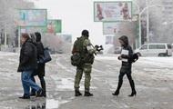 Луганск: военную технику убрали, ТВ не работает