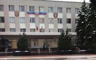 У Луганську на адмінбудівлі вивісили прапори РФ