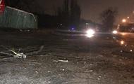 В Киеве водитель сбил пешехода на тротуаре и скрылся
