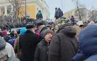 Столкновения под домом Саакашвили. Онлайн