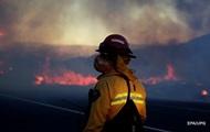 В Калифорнии введен режим ЧП из-за лесного пожара