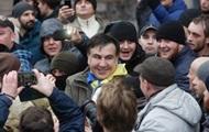 Саакашвили анонсировал брифинг под Верховной Радой