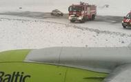 В РФ самолет с латвийским министром попал в аварию