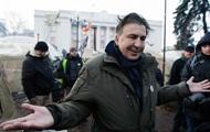 Саакашвили больше не живет в палаточном городке
