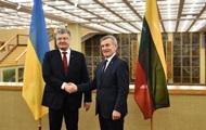 Украина и Литва заявили о необходимости усиления санкций ЕС против РФ
