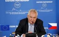 Президент Чехии обвинил ЕС в трусости и поддержке террористов