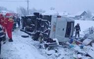 В Румынии перевернулся автобус, есть жертвы