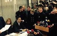 Саакашвили в голодовке равняется на Тимошенко