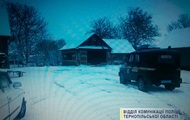На Тернопольщине мужчина угнал трактор, чтобы расчистить дороги от снега