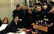 Скандал с Саакашвили: в Украине начался политический кризис
