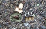 У киевлянина полиция нашла склад оружия и боеприпасов