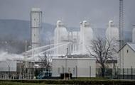 Транзит газа через Украину упадет на треть из-за взрыва в Австрии