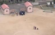В Японии фрагмент вертолета упал на территории школы, пострадал ребенок