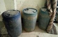СБУ: В Ивано-Франковской области в подпольном цеху из уксуса делали виски
