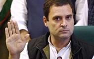 Нащадок Ганді очолив опозицію в Індії
