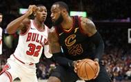 НБА: Кливленд обыграл Чикаго, Финикс вырвал победу у Мемфиса