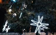 В Ковеле с главной елки украли часть иллюминации