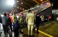 Матч команды Малиновского отменили из-за обрушения крыши стадиона