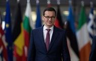 Новый премьер Польши: Варшава поддерживает Киев