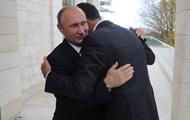 Путин пообещал Асаду дальнейшую поддержку в Сирии