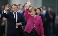 Меркель пообещала объединить ЕС совместно с Макроном