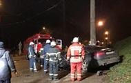 В Киеве из-за столкновения двух авто пострадали четыре человека