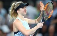Свитолина пробилась в четвертьфинал турнира в Брисбене